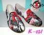 รองเท้าเพ้นท์กังฟู K-021