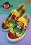 รองเท้าเพ้นท์ ทรงvan  v-004