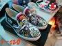 รองเท้าเพ้นท์ ทรงvan  v-020